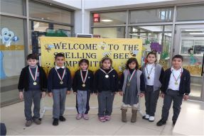 Grade 3 Students Participate in Spelling Bee
