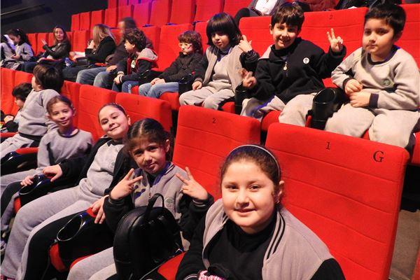 Cinema Trip Grade 3