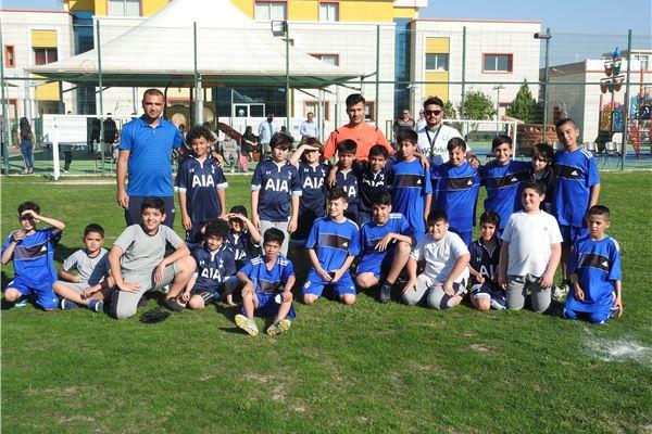 School team football match